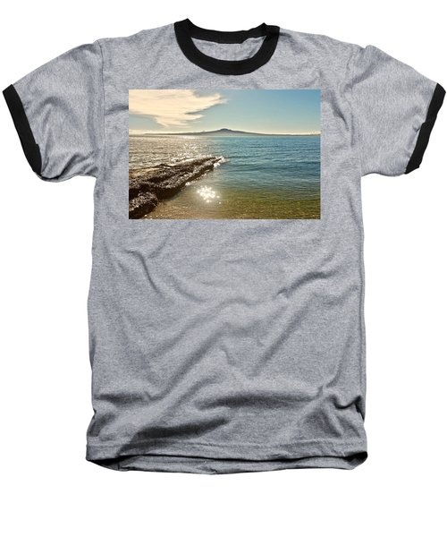 Auckland Harbour On A Winter's Afternoon Baseball T-Shirt