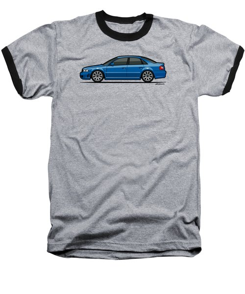 Audi A4 S4 Quattro B5 Type 8d Sedan Nogaro Blue Baseball T-Shirt