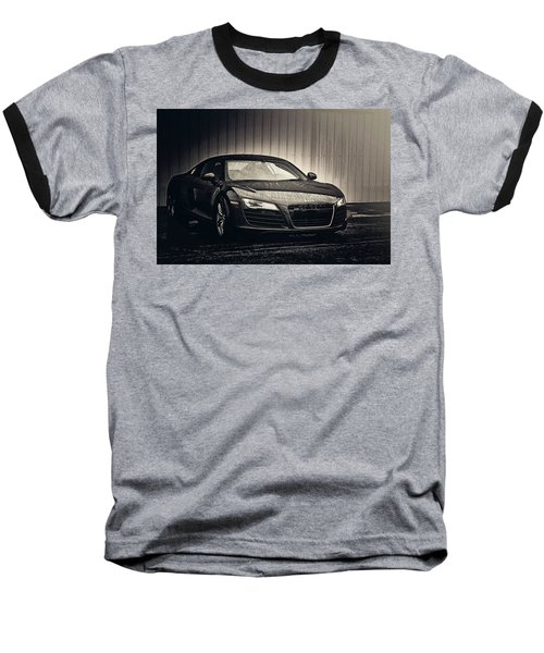 Baseball T-Shirt featuring the photograph Audi R8 by Joel Witmeyer