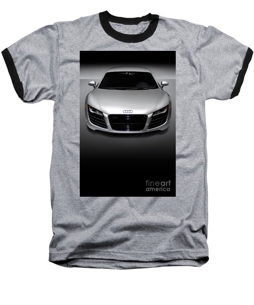 Audi R8 Sports Car Baseball T-Shirt