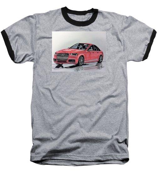 Audi S4 Baseball T-Shirt