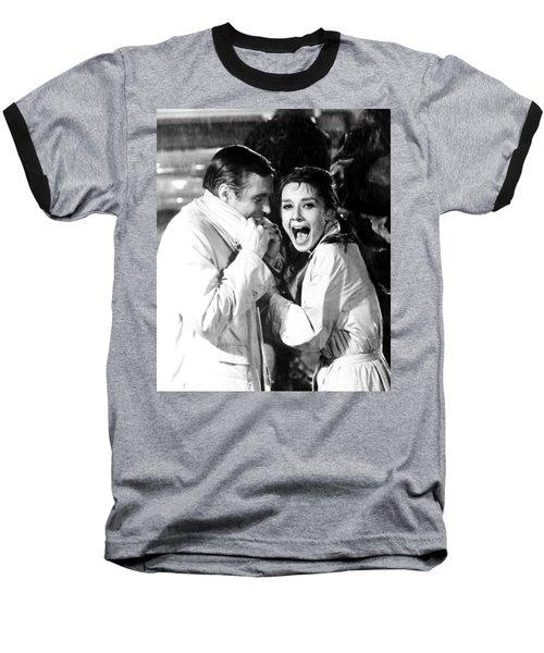 Audrey Hepburn As Holly Golightly Baseball T-Shirt