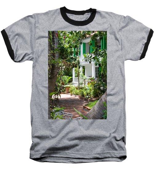 Audubon House Entranceway Baseball T-Shirt