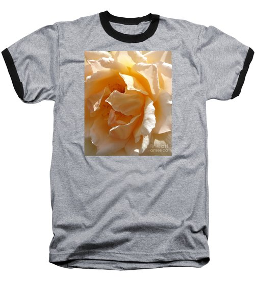 Baseball T-Shirt featuring the photograph August Rose 1 by Fred Wilson