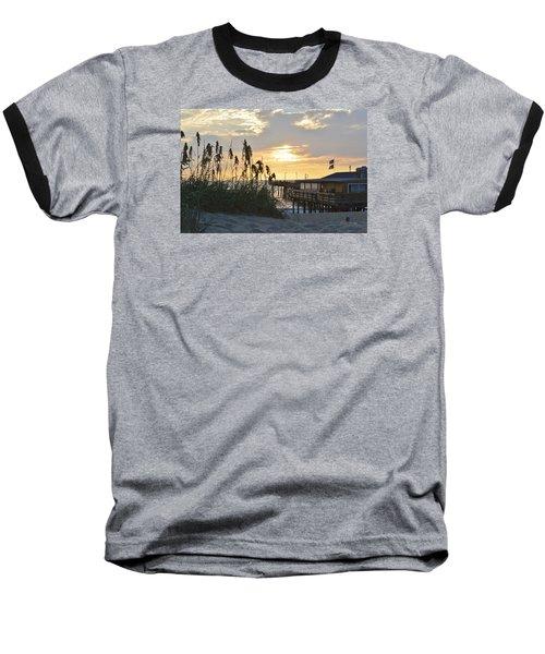 August Sunrise On The Obx  Baseball T-Shirt