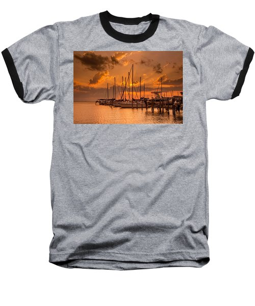August Sunset Baseball T-Shirt