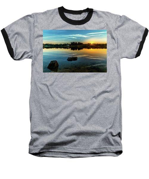August Sunset Baseball T-Shirt