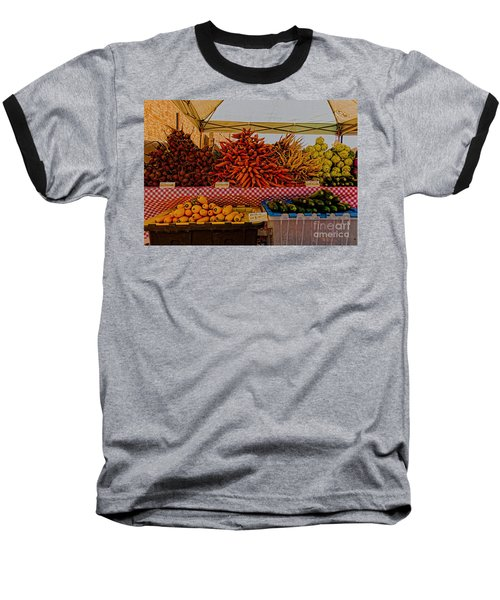 August Vegetables Baseball T-Shirt