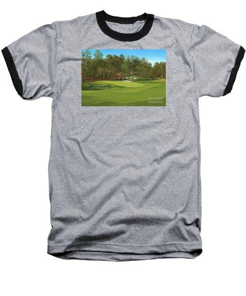 Augusta 11 And12th Hole Baseball T-Shirt