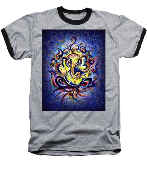 Aum Ganesha - Bliss Baseball T-Shirt