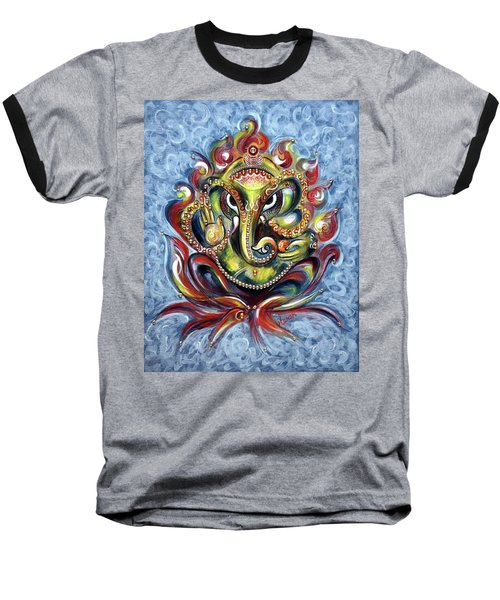Aum Ganesha Baseball T-Shirt