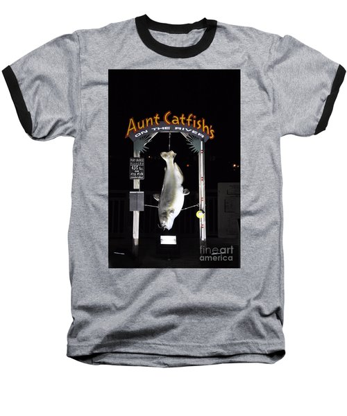Baseball T-Shirt featuring the photograph Aunt Catfish by John Black
