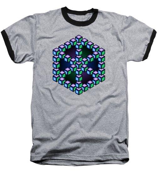 Aurelia Cube Baseball T-Shirt