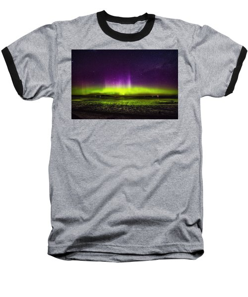 Aurora Australis Baseball T-Shirt by Odille Esmonde-Morgan