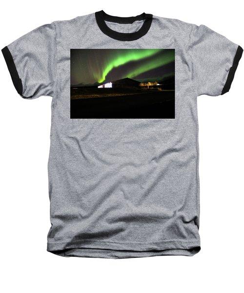 Aurora Borealis - 1 Baseball T-Shirt