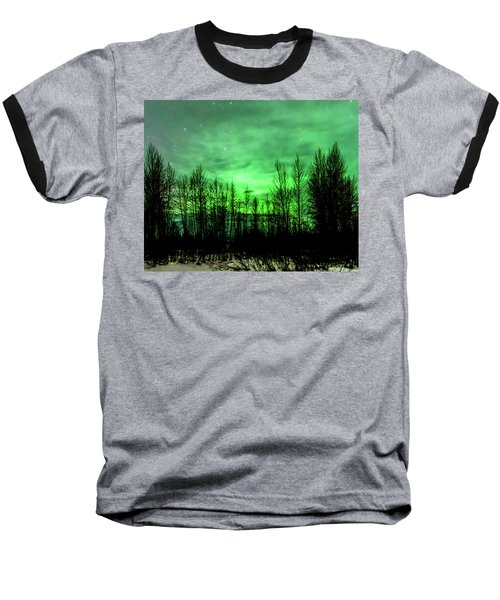 Aurora In The Clouds Baseball T-Shirt