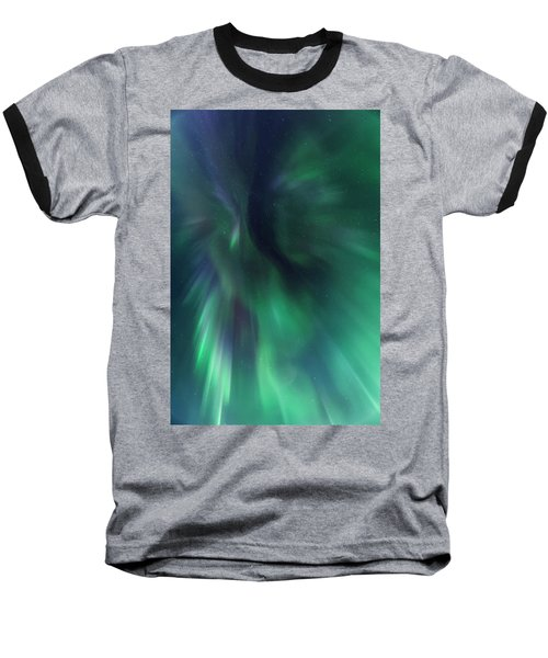 Aurora Kaleidoscope Baseball T-Shirt