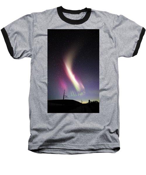 Auroral Phenomonen Called Steve 1 Baseball T-Shirt