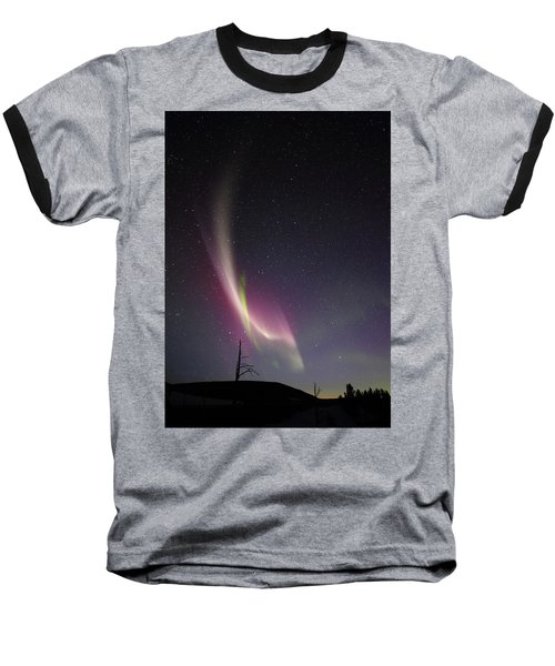 auroral Phenomonen known as Steve, 5 Baseball T-Shirt