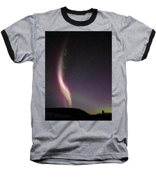 Auroral Phenomonen Known As Steve, 7 Baseball T-Shirt