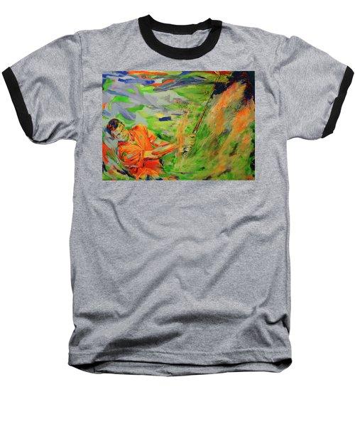 Aus Dem Bunker Spielen   Bunker Shot Baseball T-Shirt
