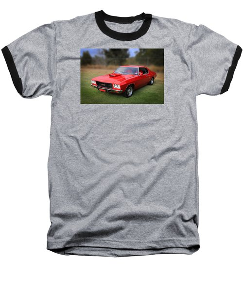 Baseball T-Shirt featuring the photograph Aussie Muscle by Keith Hawley