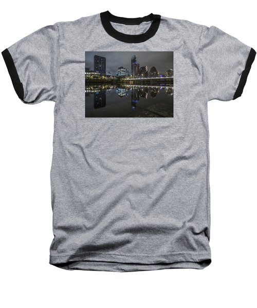 Austin As Gotham Baseball T-Shirt