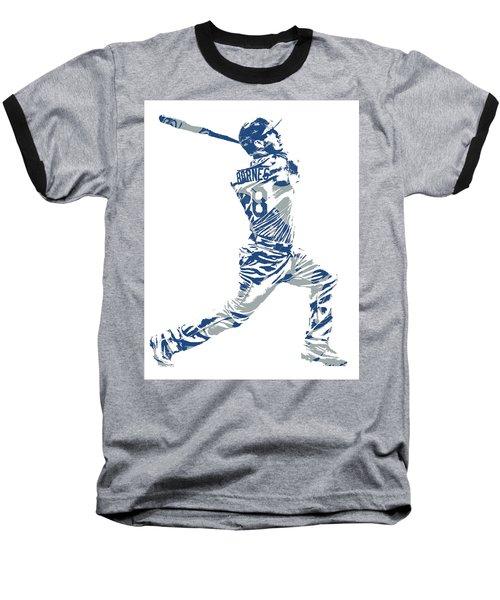 Austin Barnes Los Angeles Dodgers Pixel Art 1 Baseball T-Shirt