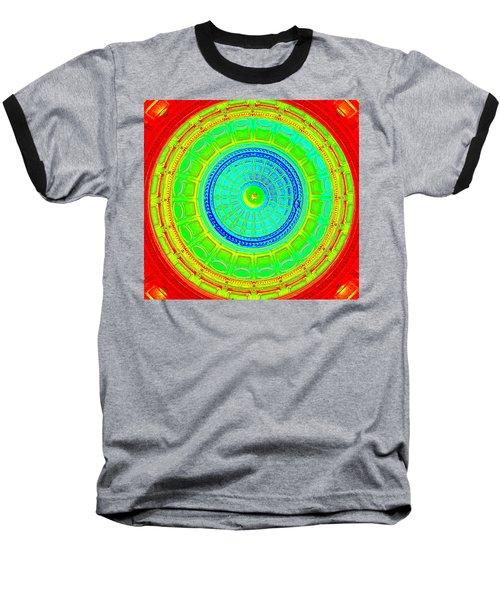 Austin Dome - C Baseball T-Shirt by Karen J Shine