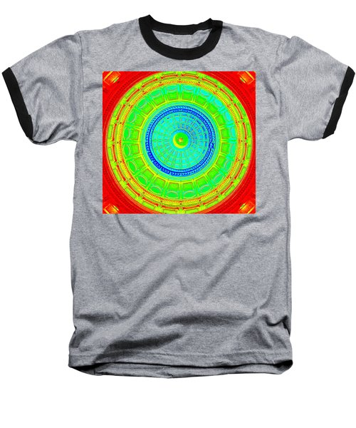 Austin Capitol Dome - 2 Baseball T-Shirt