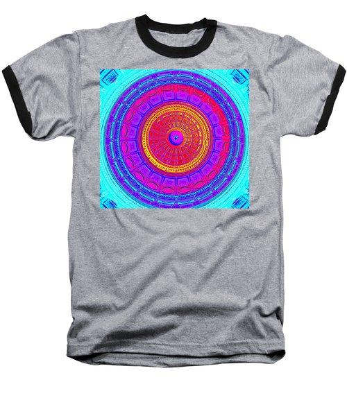 Austin Capitol Dome - 4 Baseball T-Shirt