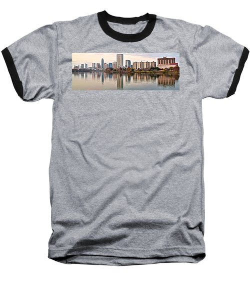 Austin Elongated Baseball T-Shirt by Frozen in Time Fine Art Photography