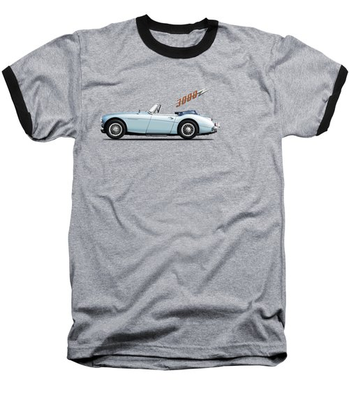 Austin Healey 3000 Mk3 Baseball T-Shirt by Mark Rogan