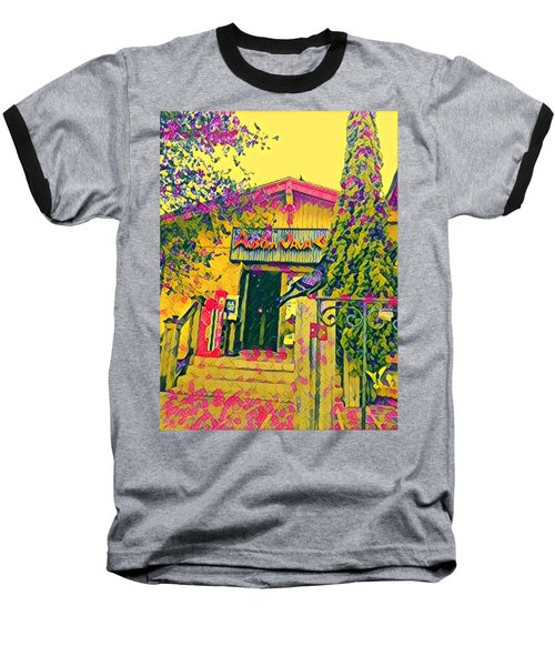 Austin Java Electric Baseball T-Shirt