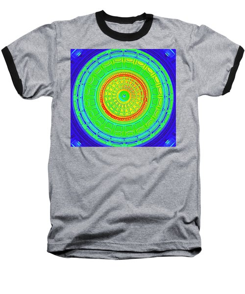 Austin Dome - B Baseball T-Shirt by Karen J Shine