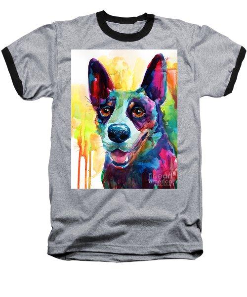 Australian Cattle Dog Heeler Baseball T-Shirt