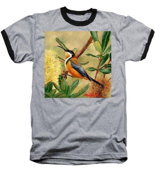 Australian Eastern Spinebill  Baseball T-Shirt