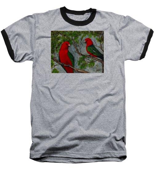 Australian King Parrot Baseball T-Shirt