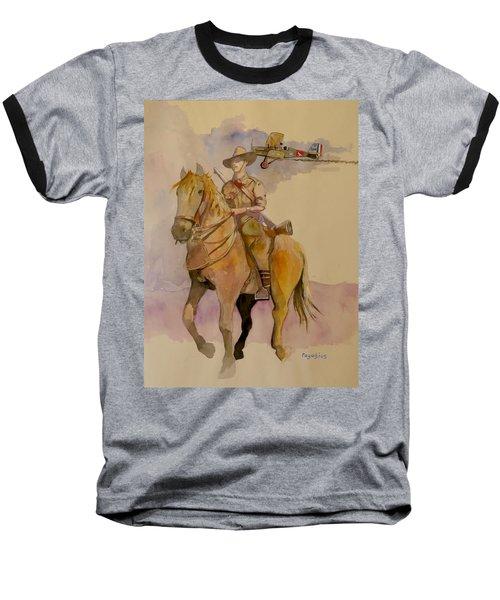 Australian Light Horse Regiment. Baseball T-Shirt by Ray Agius