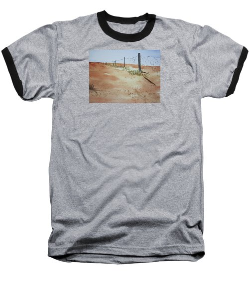 Australian Outback Track Baseball T-Shirt