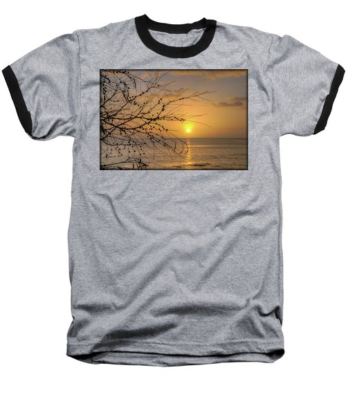 Australian Sunrise Baseball T-Shirt by Geraldine Alexander