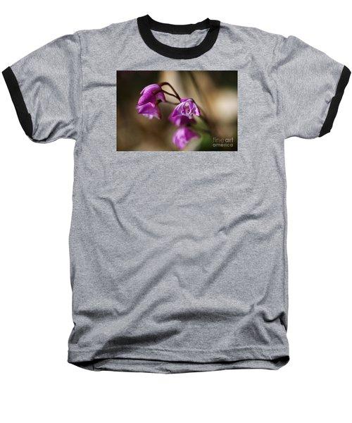 Australia's Native Orchid Small Dendrobium Baseball T-Shirt