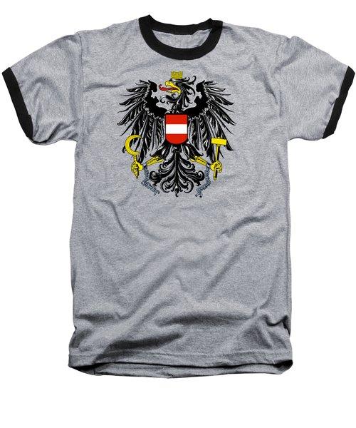 Austria Coat Of Arms Baseball T-Shirt