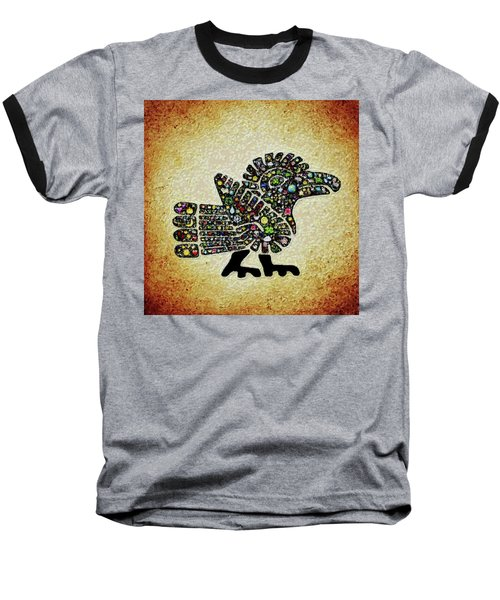 Authentic Aztec Wall Art Baseball T-Shirt