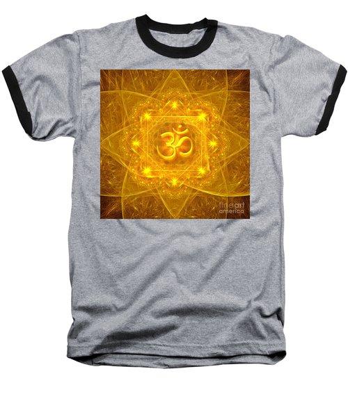 Authentic Om  Baseball T-Shirt