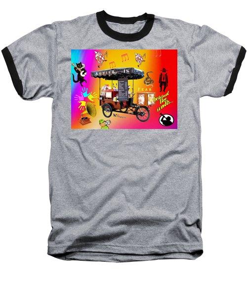 Autism Is Fear Baseball T-Shirt