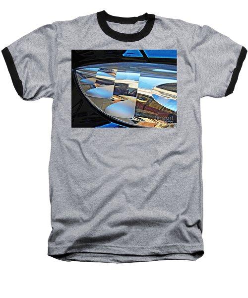 Auto Headlight 193 Baseball T-Shirt by Sarah Loft