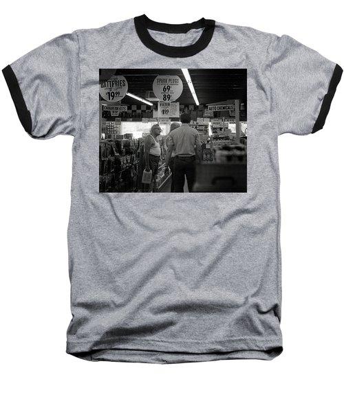 Auto-parts Store, 1972 Baseball T-Shirt