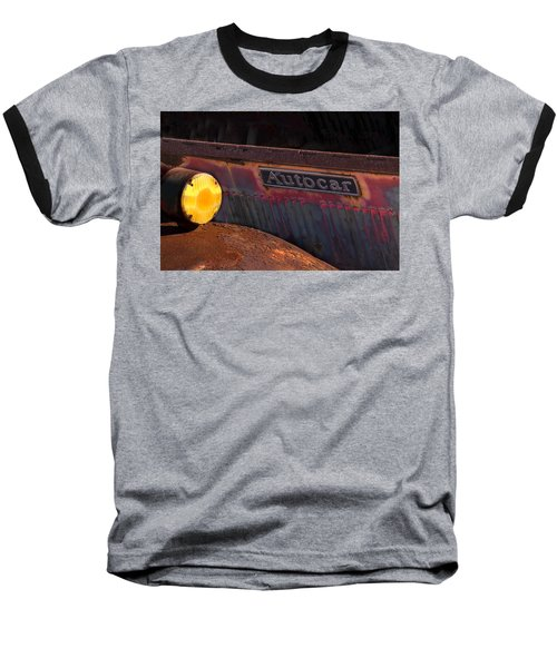 Autocar Trucks Baseball T-Shirt by Tom Singleton