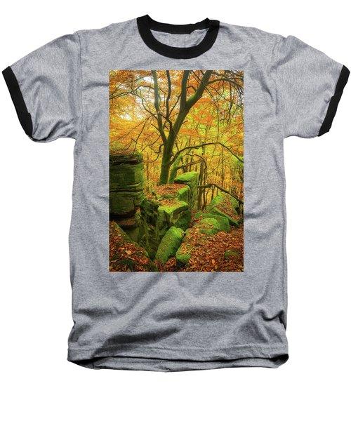 Automnal Glow Baseball T-Shirt